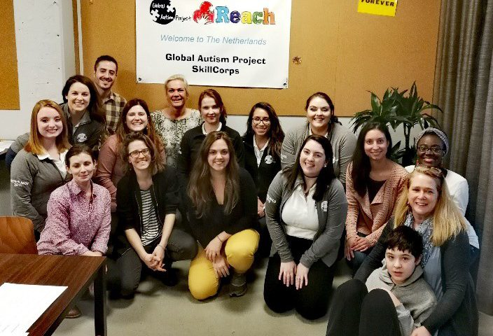 Global Autism Project SkillCorps visit REACH!